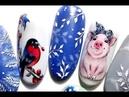Winter Nail Trends💙❄💙 Christmas Nail Art Designs✔ Design in Beauty-Nail Art ✅