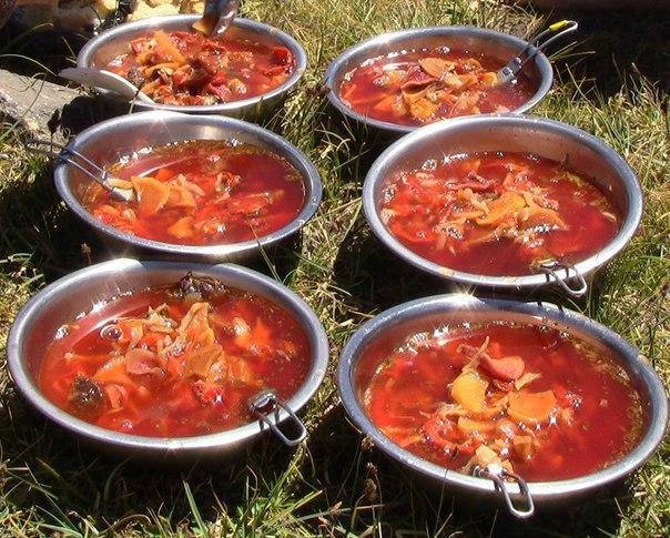 борщ по рецепту бабушки игоря краснова