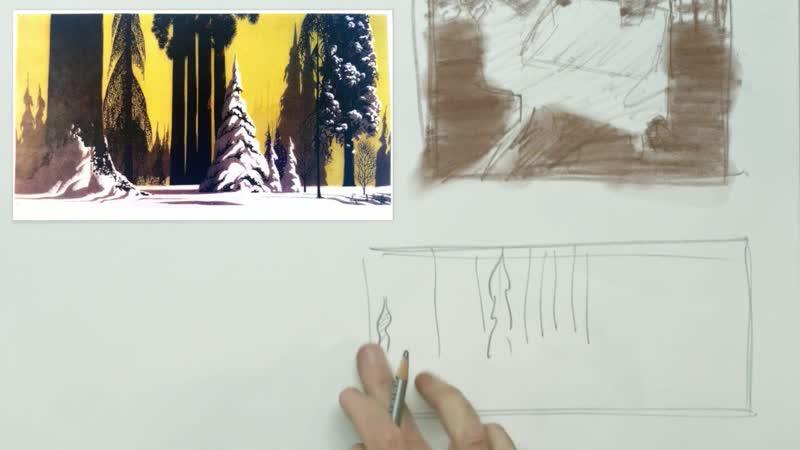 Композиция для художников Неделя 6: Форма как визуальный компонент