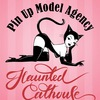 HAUNTED CATHOUSE. PINUP MODEL AGENCY.