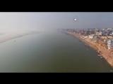 Varanasi Ganga drone shooting