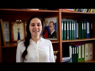 Визитка.Ученик года - 2018 Пономарёва Виктория