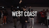 West Coast - G-Eazy, Blueface ft. ALLBLACK &amp YG  Koosung Jung Choreography