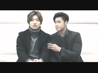 i did that move too, yunho. - now i see that was not subtle at All.