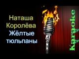 Наташа Королёва - Жёлтые тюльпаны ( караоке )