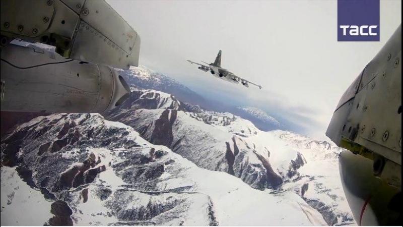'Грачи' прилетели учения Су 25 в Киргизии