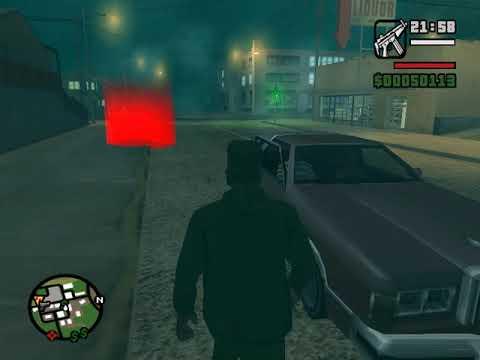 прохождение игры GTA San Andreas 32 миссия король в изгнании местный алкогольный магазин
