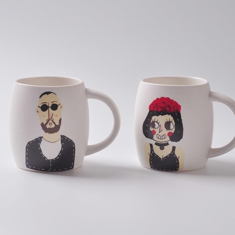 Чашки с героями фильма Леон -