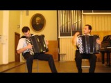 A.Vivaldi - J.S.Bach. Concert d-moll (bayan DUO) - Alexander Orlov &amp M. Nazarchuk (2001)
