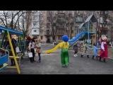 Открытие детской площадки в Измаиле. 26 декабря