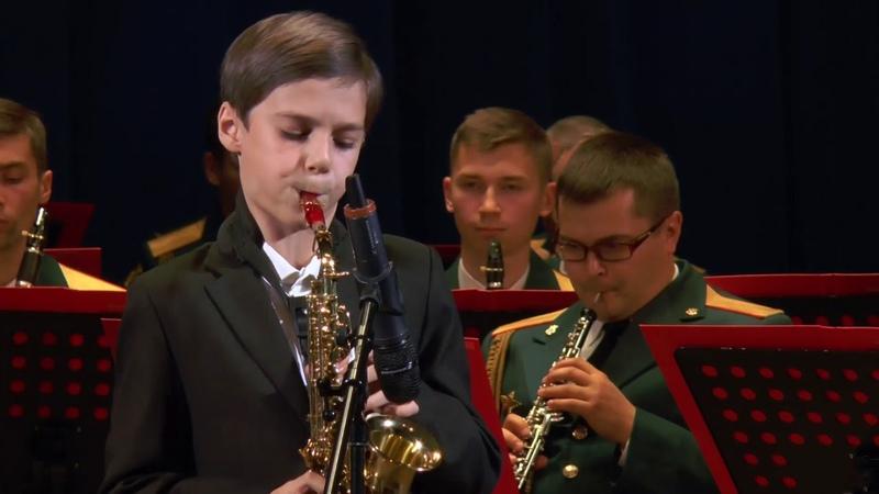Александр Гилев Самба, концертная пьеса для саксофона сопрано с оркестром