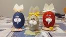 Tutorial 002 DIY Coniglietto di Pasqua con uovo di polistirolo e filo di lana