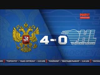 Россия - Канада 4-0. Мол. Сборные. 13 ноября 2018