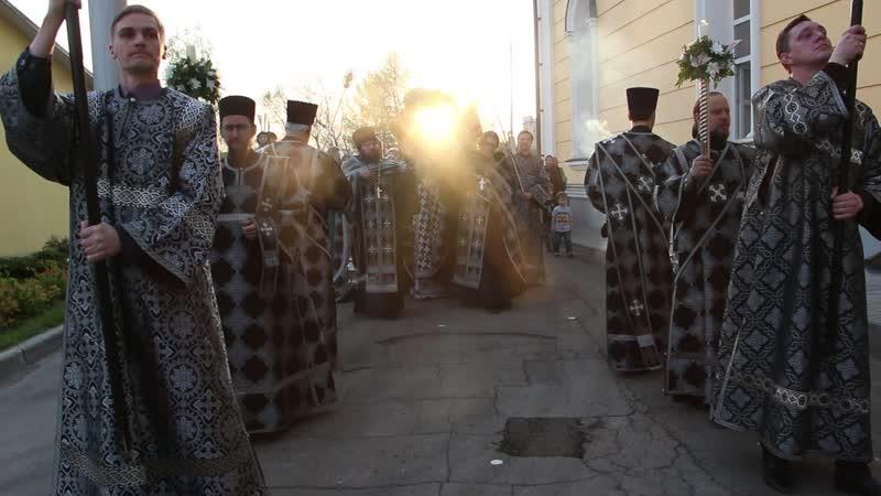 Чин погребения в Свято-Троицком кафедральном соборе г. Покровска