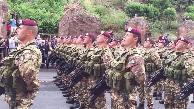 Guerriero Parà OFFICIAL SONG SS Marschiert in Feindesland OFFICIAL SONG ITALIAN ARMY