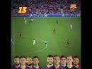 22 передачи за минуту и гол Великолепная Барселона
