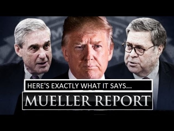 BARR NONE AGS REDACTED REPORT IS OUT- PROVES HE IS IMPARTIAL READY TO SEEK JUSTICE