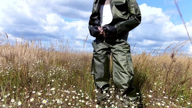 Армейский костюм штаны куртка из плащёвки цвета хаки