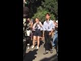 17.06.2018 Чанмин на показе Прада в рамках Milan Fashion Week