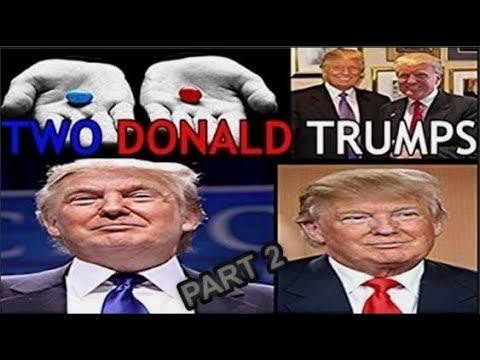 Donald Trump - Clones Glitch in The Matrix, Holograms, Handlers, and More (Illuminati)