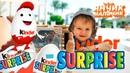 Открываем коробку КИНДЕРОВ! Kinder Surprise Challenge Видео для детей