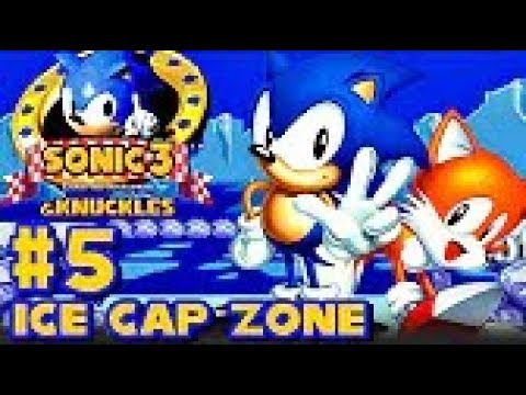 Sonic 3 Knuckles HD part 5 ► Ice Cap
