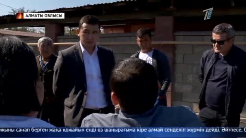 Алматы облысының тұрғыны өзін өртемек болды