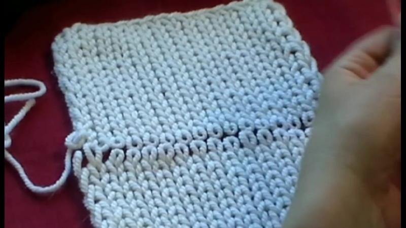 2. Трикотажные швы. Невидимый шов Петля в Петлю Grafting knitting knitting crochet