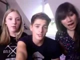 JacksGap. Finn Harries &amp Kimmi smiles talk! August 14, 2012