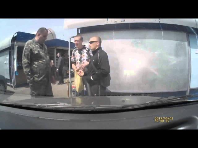 ГОП СТОП по-русски! БЕСПРЕДЕЛЯТ НА РЫНКЕ! ДРАКА! / GOP STOP in Russian! Lawlessness on the market!