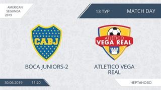 AFL19. America. Segunda. Day 13. Boca Juniors-2 - Atletico Vega Real.