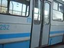 Последний в Крыму троллейбус ЮМЗ Т1 № 2252 в Симферополе