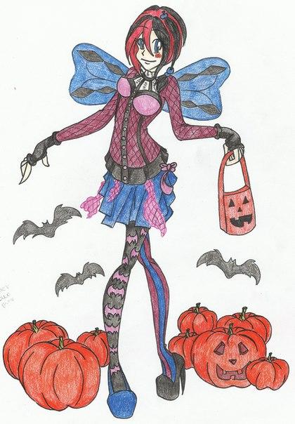 винкс и монстр хай журнал и игра учимся готовить на хэллоуин!