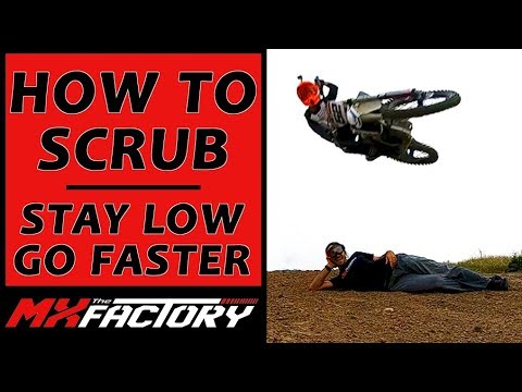 How To Scrub a Dirt Bike - Jump Low Like a Pro in 3 Steps!!