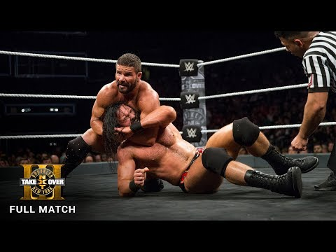 FULL MATCH Roode vs McIntyre NXT Title Match NXT TakeOver Brooklyn III WWE Network Exclusive