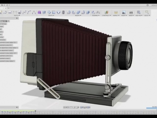 Modeling of the old camera by Joshua Siebert Tools Used: Autodesk Fusion 360 #3D@industrial.design