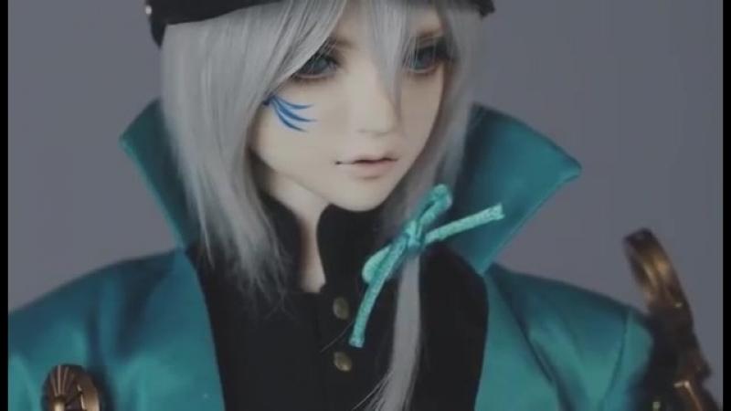 Aooni - шарнирная кукла от Ringdoll