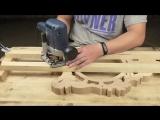 Как сделать резные часы часть 1 начало работы, резьба по дереву