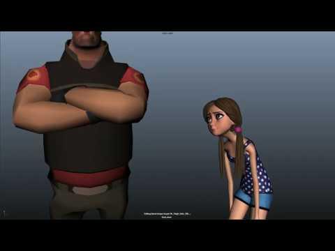 JasmineRose Rig Animation: Dialog.