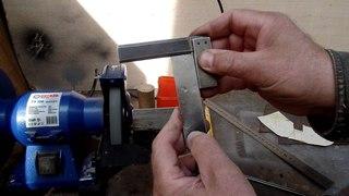 Приспособление для заточки стамесок на электроточиле сделанное своими руками