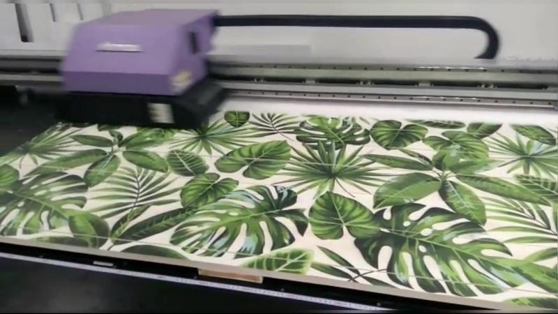 Печать картины на досках для отеля Гранд-Круиз