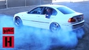 Dan Rips Donuts in His Mostly Stock E46 Daily Driver