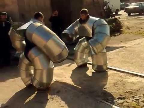 Russians created battle robots. Киборги существуют. Российские разработки.