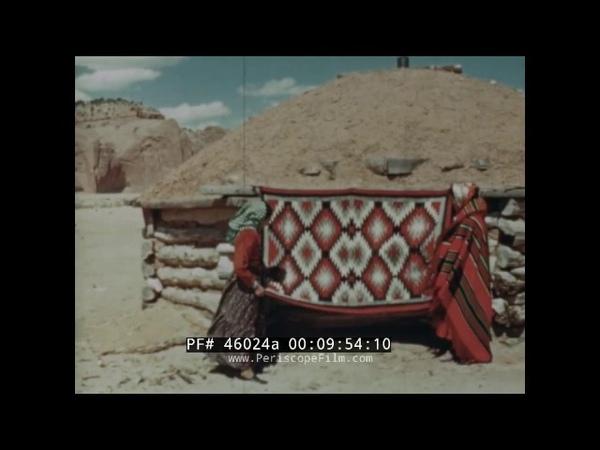 NAVAJO RESERVATION DOCUMENTARY NEW MEXICO / ARIZONA SANTA FE RR 46024a