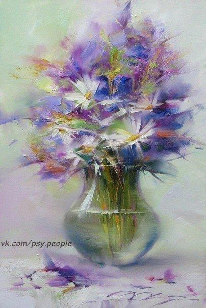 Цветы - остатки рая на земле.