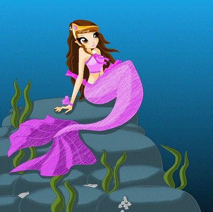 Макияж для русалки и арты русалок winx