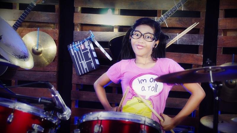 Chubby Checker Let's Twist Again Drum Cover by Nur Amira Syahira