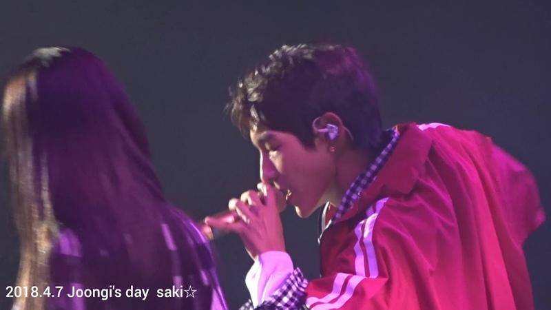 2018.4.7 Joongi's Day 「NOWThank You」이준기 leejoongi イジュンギ