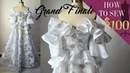 How To Sew A Off The Shoulder Wedding Ball Gown For $100 (EP: 09 GRAND FINALE)