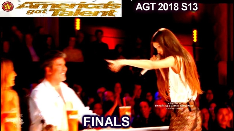 """Courtney Hadwin River Deep Mountain High"""" STAR IN THE MAKING America's Got Talent 2018 Finale AGT"""